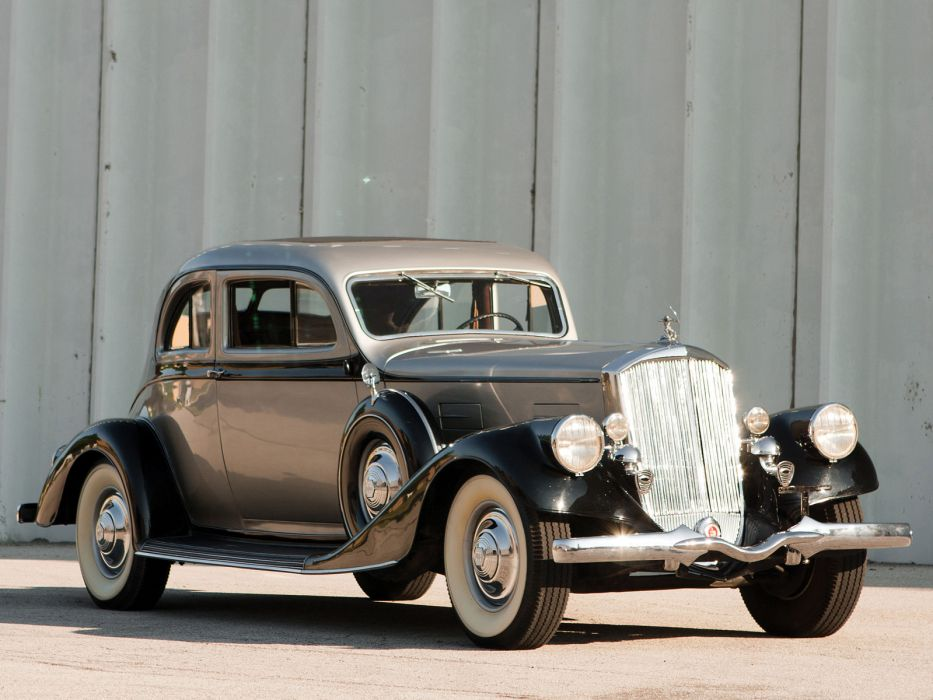 1934 Pierce Arrow Silver Arrow Coupe Model-840A retro luxury   g wallpaper