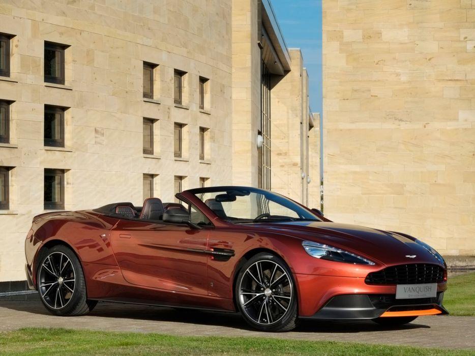 2013 Aston Martin Vanquish Volante Q convertible   h wallpaper