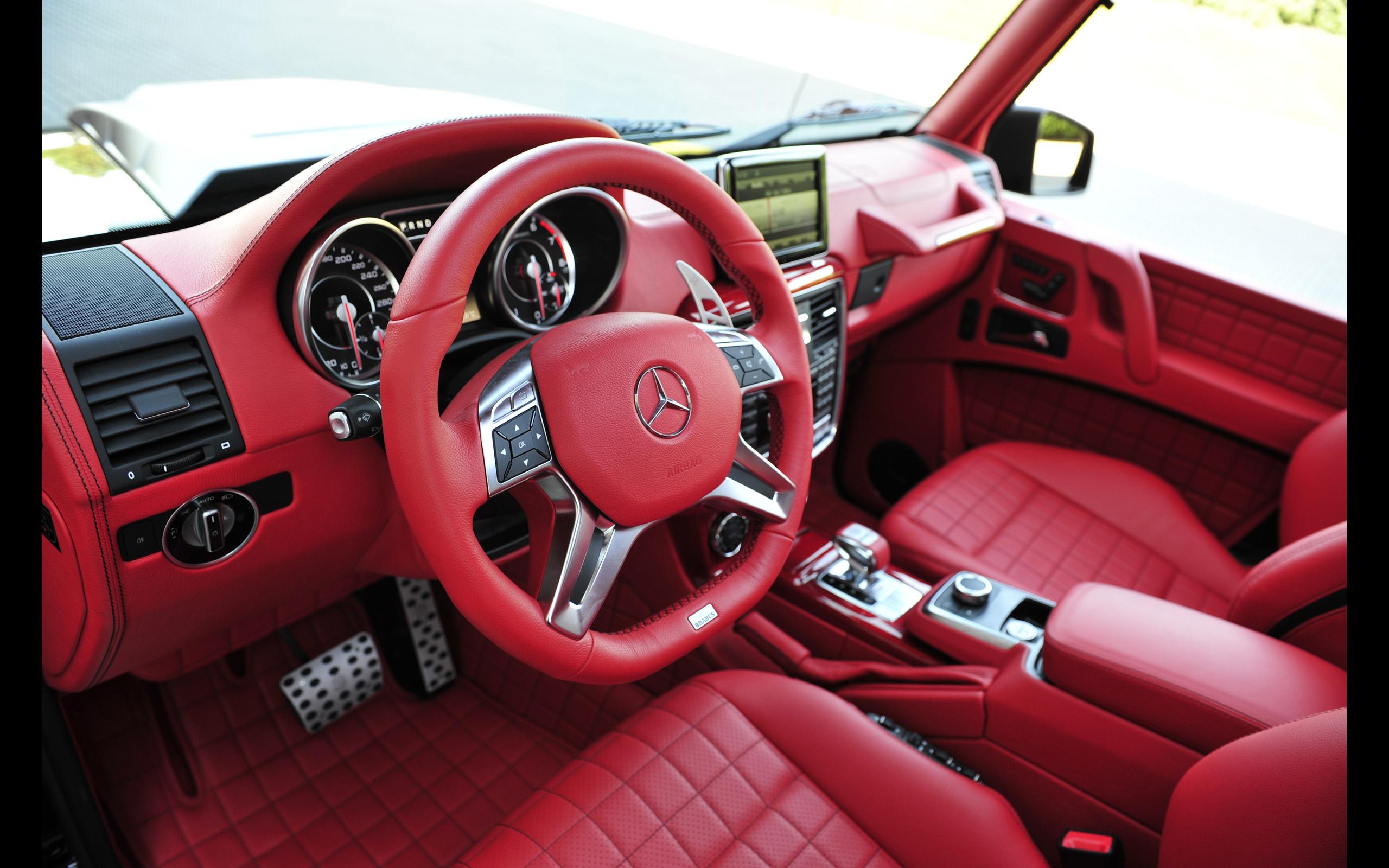 G Wagon 6X6 >> 2013 Brabus Mercedes Benz B63S 700 6x6 offroad interior h ...