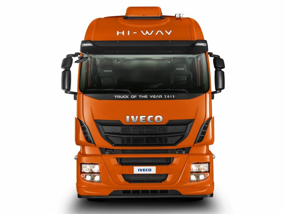 2013 Iveco Stralis Hi-Way 560 6x2 semi tractor wallpaper