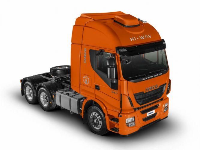 2013 Iveco Stralis Hi-Way 560 6x2 semi tractor f wallpaper