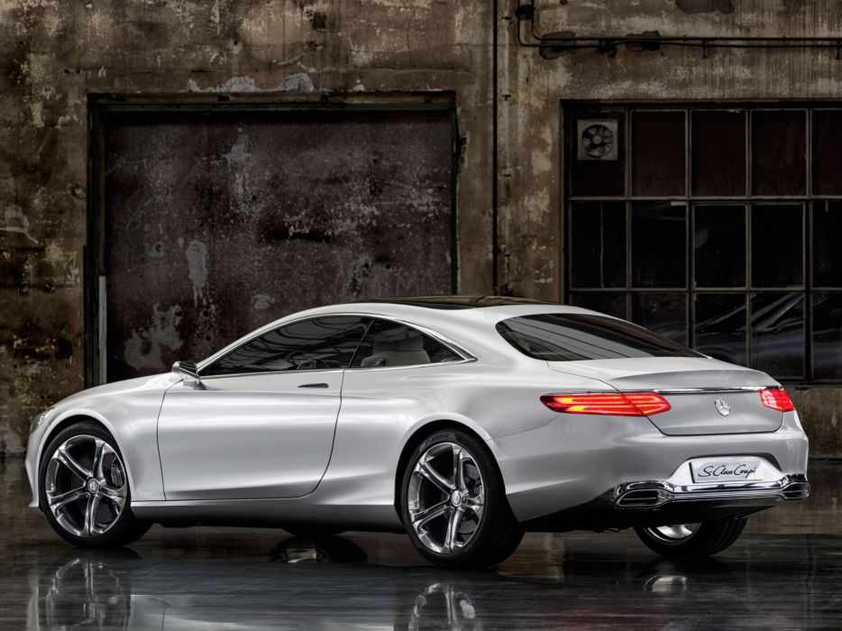2013 Mercedes Benz S-Class Coupe Concept   j wallpaper