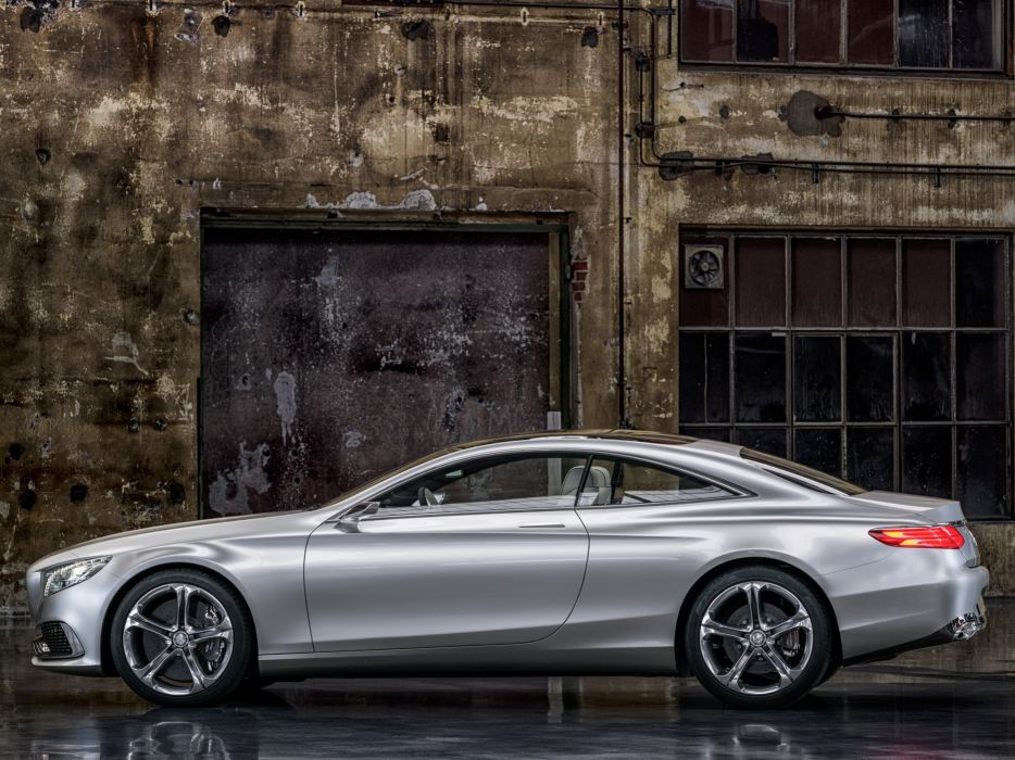 2013 Mercedes Benz S-Class Coupe Concept   jf wallpaper
