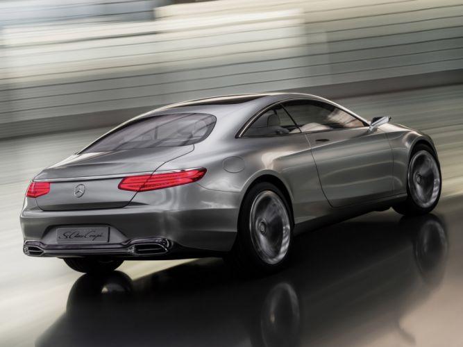 2013 Mercedes Benz S-Class Coupe Concept f wallpaper