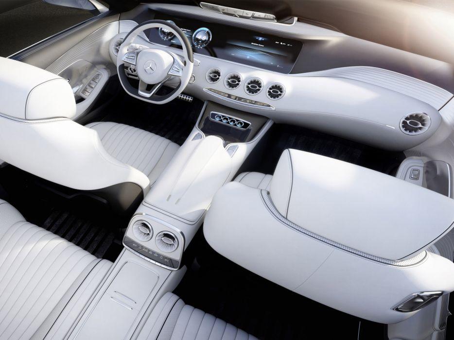 2013 Mercedes Benz S-Class Coupe Concept interior        h wallpaper