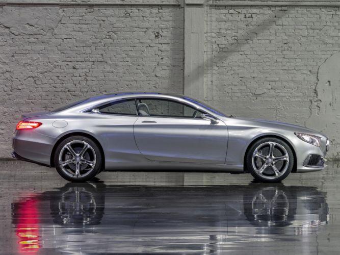 2013 Mercedes Benz S-Class Coupe Concept h wallpaper