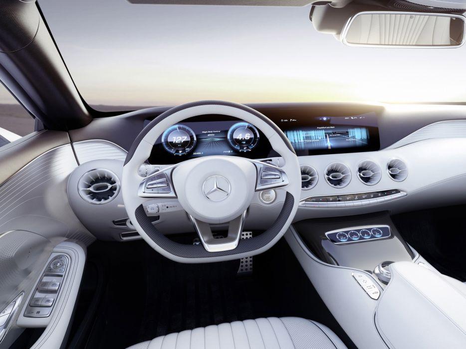 2013 Mercedes Benz S Class Coupe Concept Interior T Wallpaper