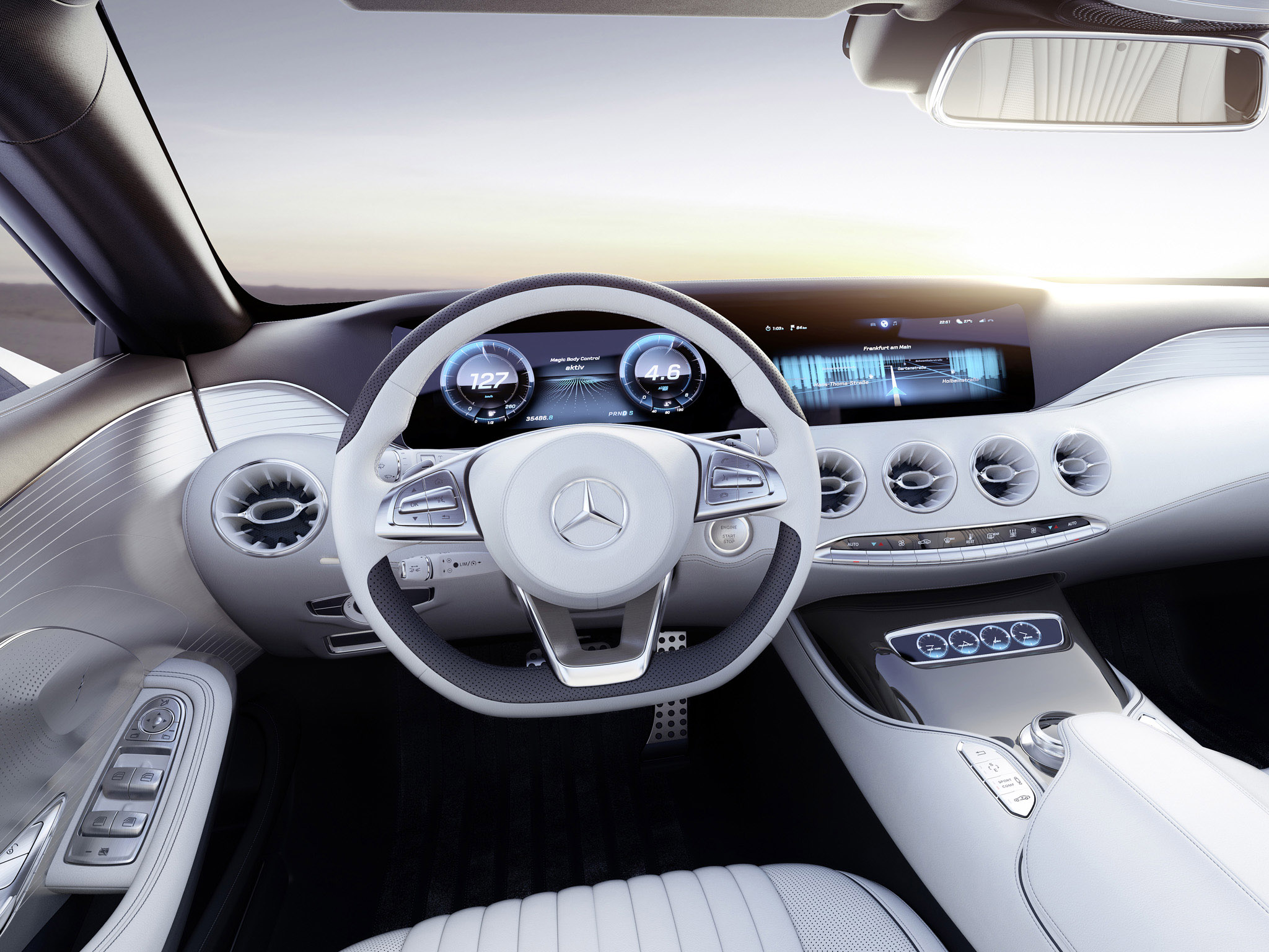 2013 Mercedes Benz S Class Coupe Concept Interior T