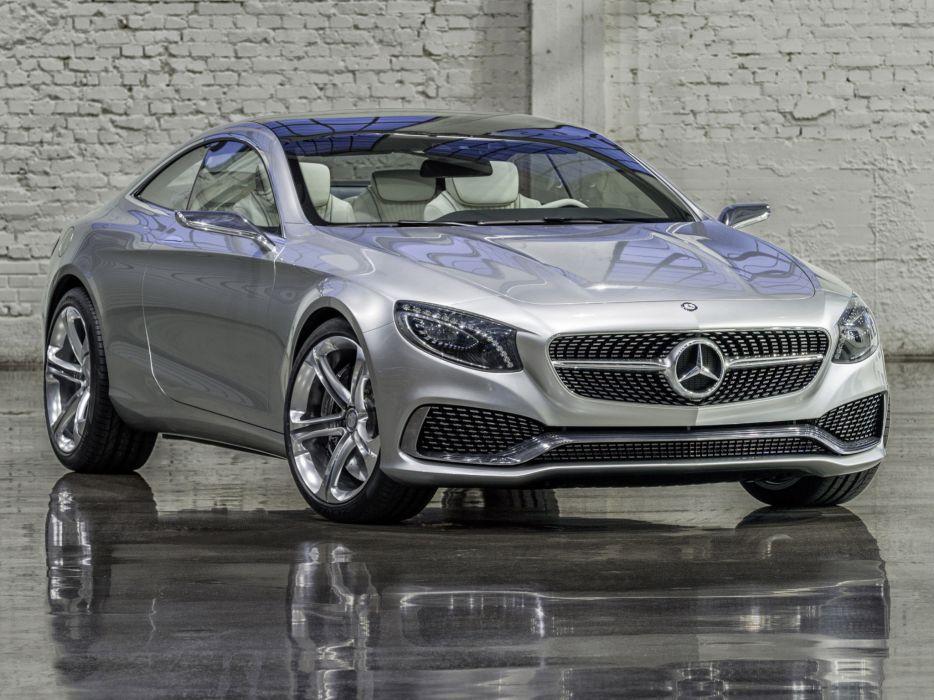 2013 Mercedes Benz S-Class Coupe Concept wallpaper