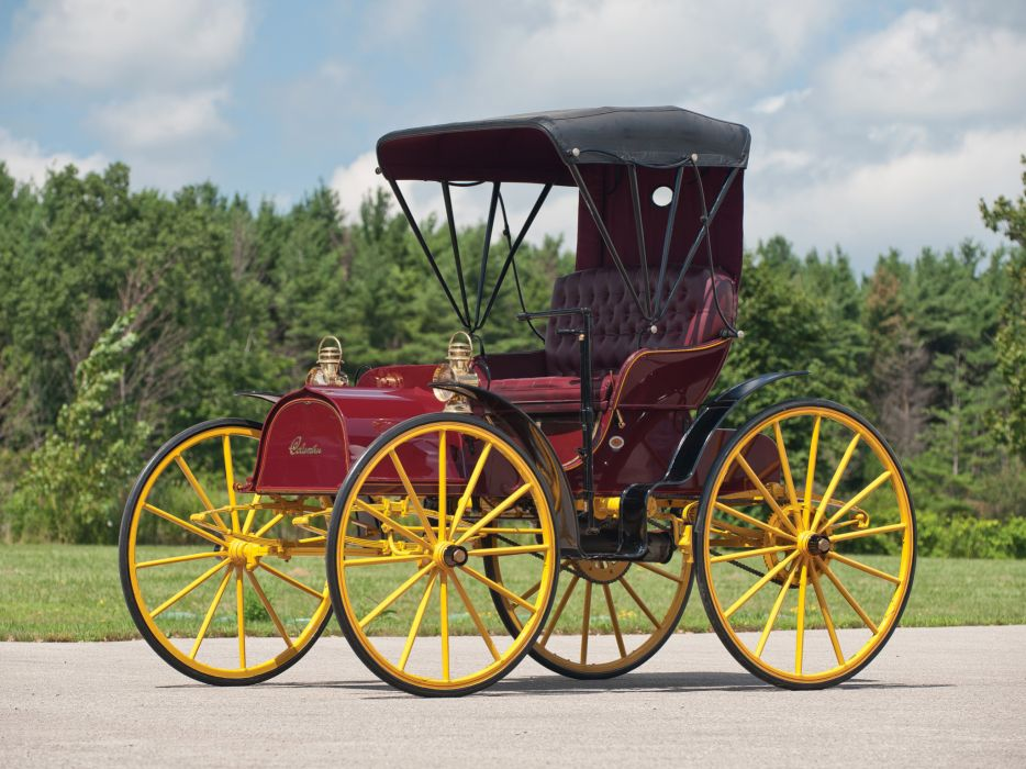1905 Columbus 2-Cylinder Runabout retro  f wallpaper