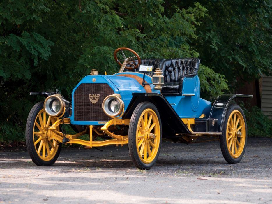 1909 EMF Model-30 Roadster retro wallpaper