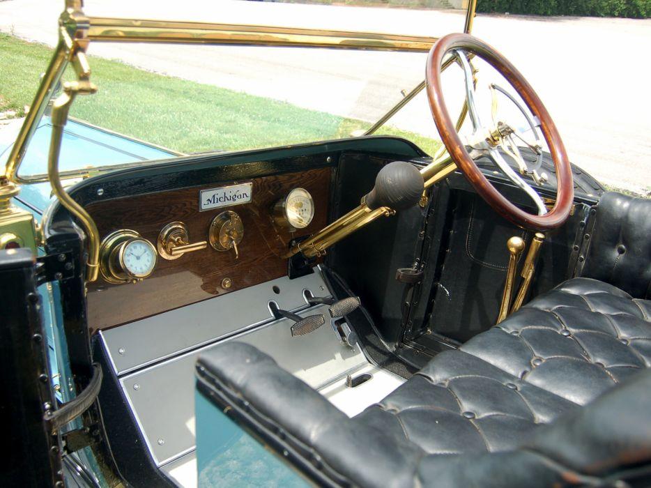 1911 Michigan Model-40K Five-Passenger Touring retro interior      h wallpaper