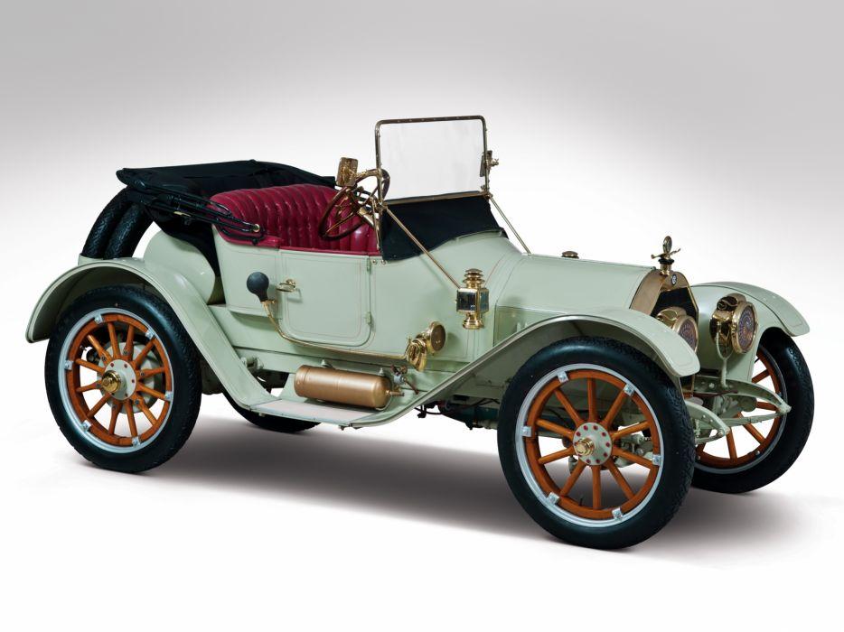 1912 Chalmers Model-9 Torpedo Roadster retro wallpaper