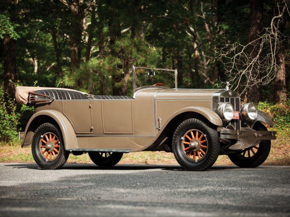 1927 Franklin Model-11B Sport Touring retro   fs wallpaper
