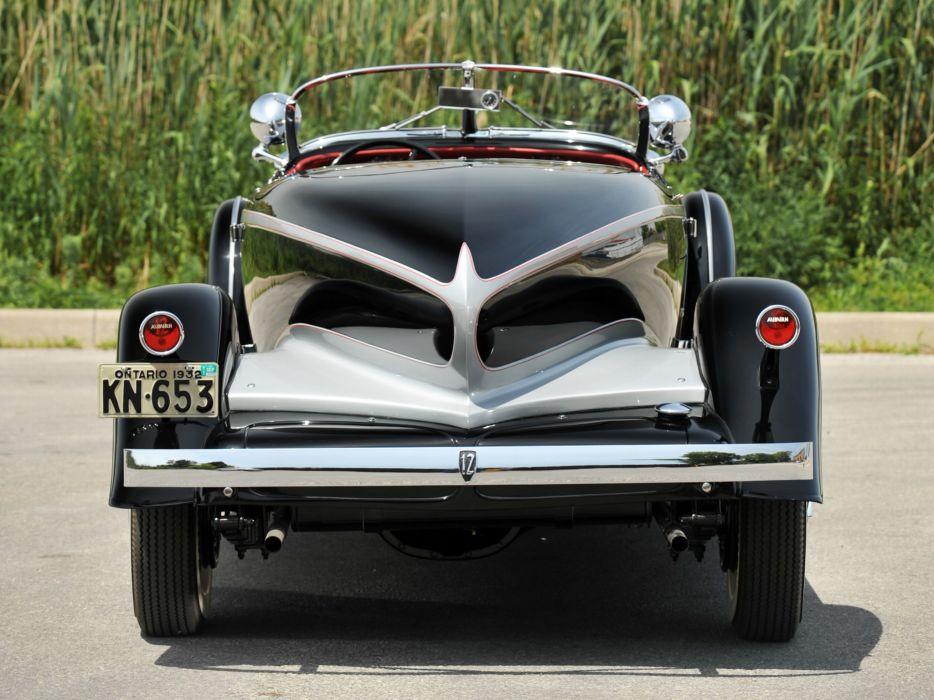 1932 Auburn V12 160A Speedster luxury retro     h wallpaper