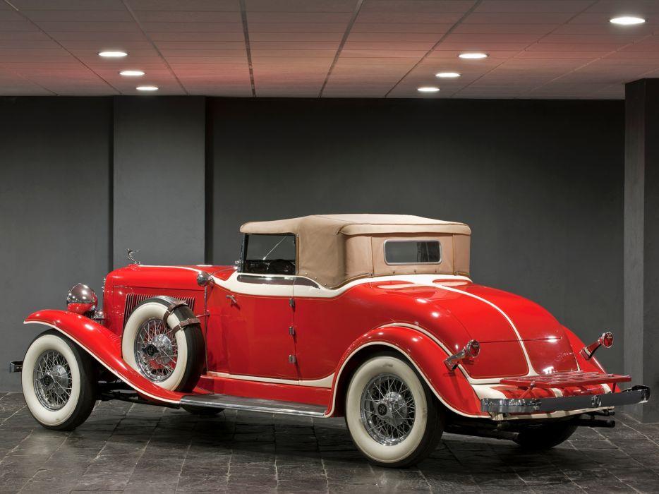 1932 Auburn V12 161 Convertible Coupe luxury retro   g wallpaper
