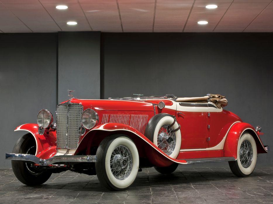 1932 Auburn V12 161 Convertible Coupe luxury retro wallpaper