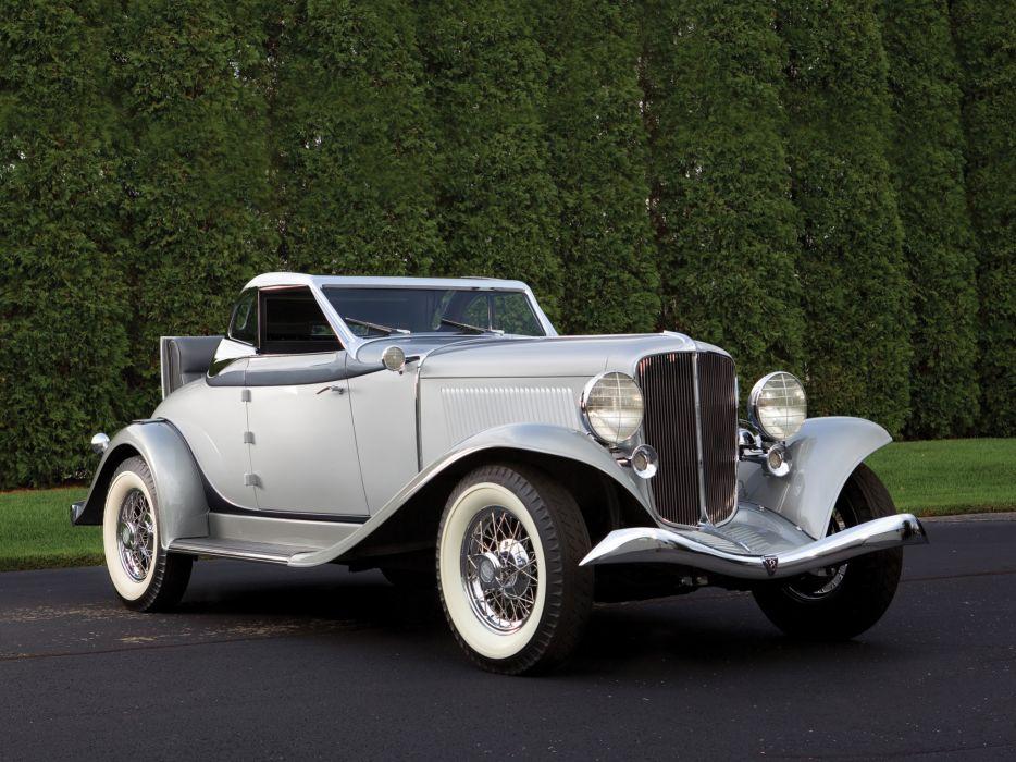 1933 Auburn 8-101A Convertible Coupe retro   h wallpaper