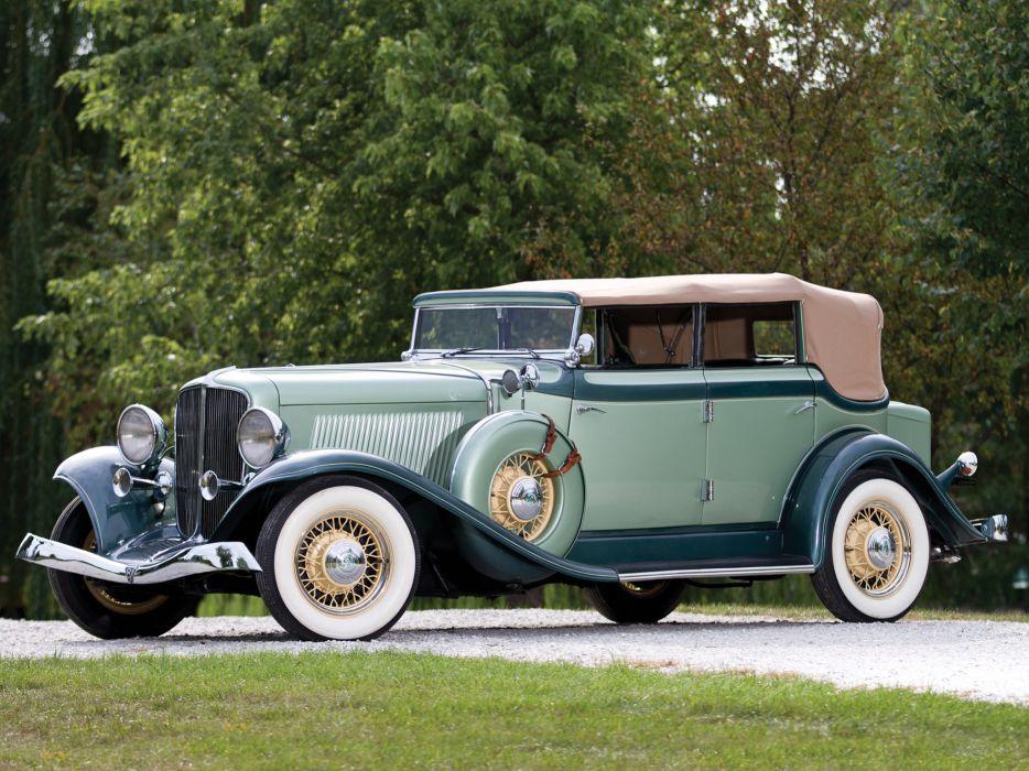 1933 Auburn 8-105 Convertible Sedan luxury retro g wallpaper