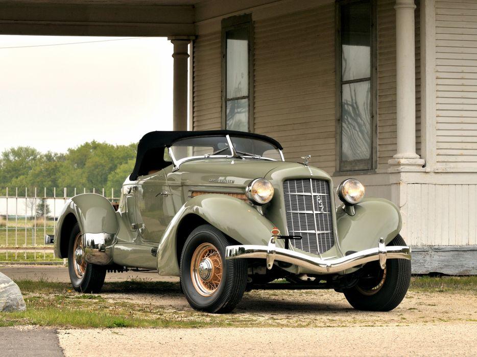 1936 Auburn 852 S-C Speedster retro   f wallpaper