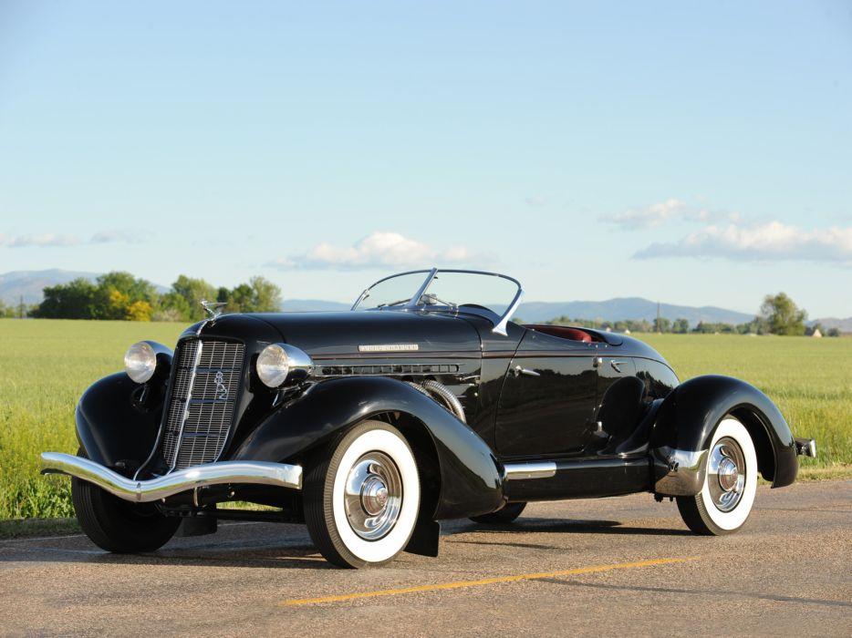 1936 Auburn 852 S-C Speedster retro   hw wallpaper