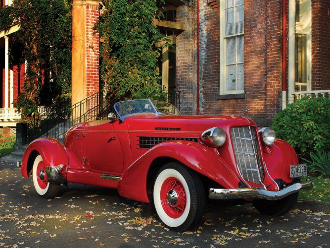 1936 Auburn 852 S-C Speedster retro h wallpaper