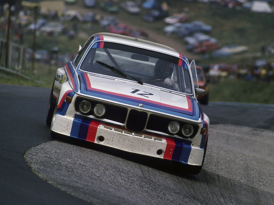 1971 BMW 3_0 CSL Race Car E-9 racing   gf wallpaper