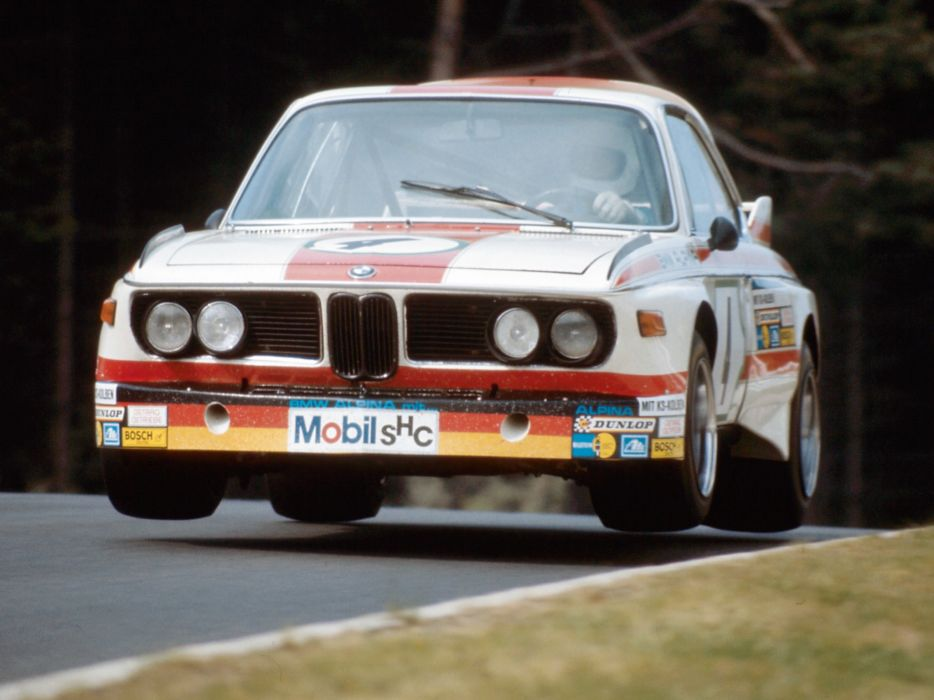 1971 BMW 3_0 CSL Race Car E-9 racing  f wallpaper