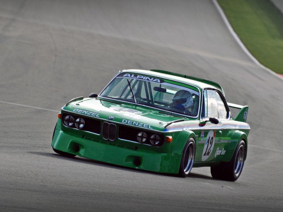 1971 BMW Alpina 3_0 CSL E-9 race racing wallpaper
