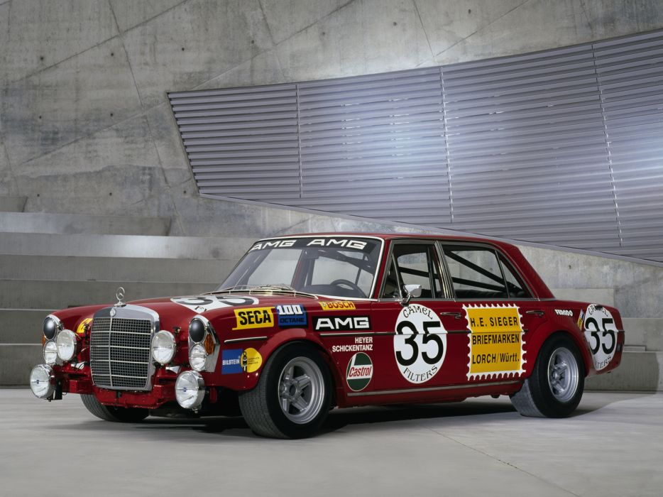 1971 Mercedes Benz AMG 300 SEL 6_3 Race Car W109 racing   gf wallpaper