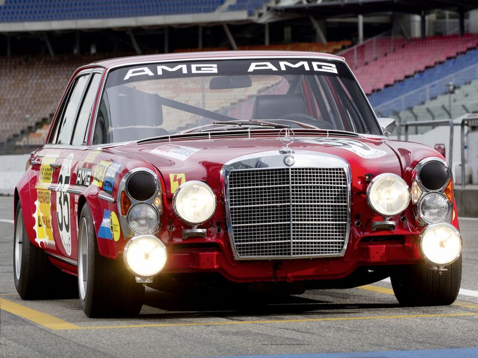 1971 Mercedes Benz Amg 300 Sel 6 3 Race Car W109 Racing H