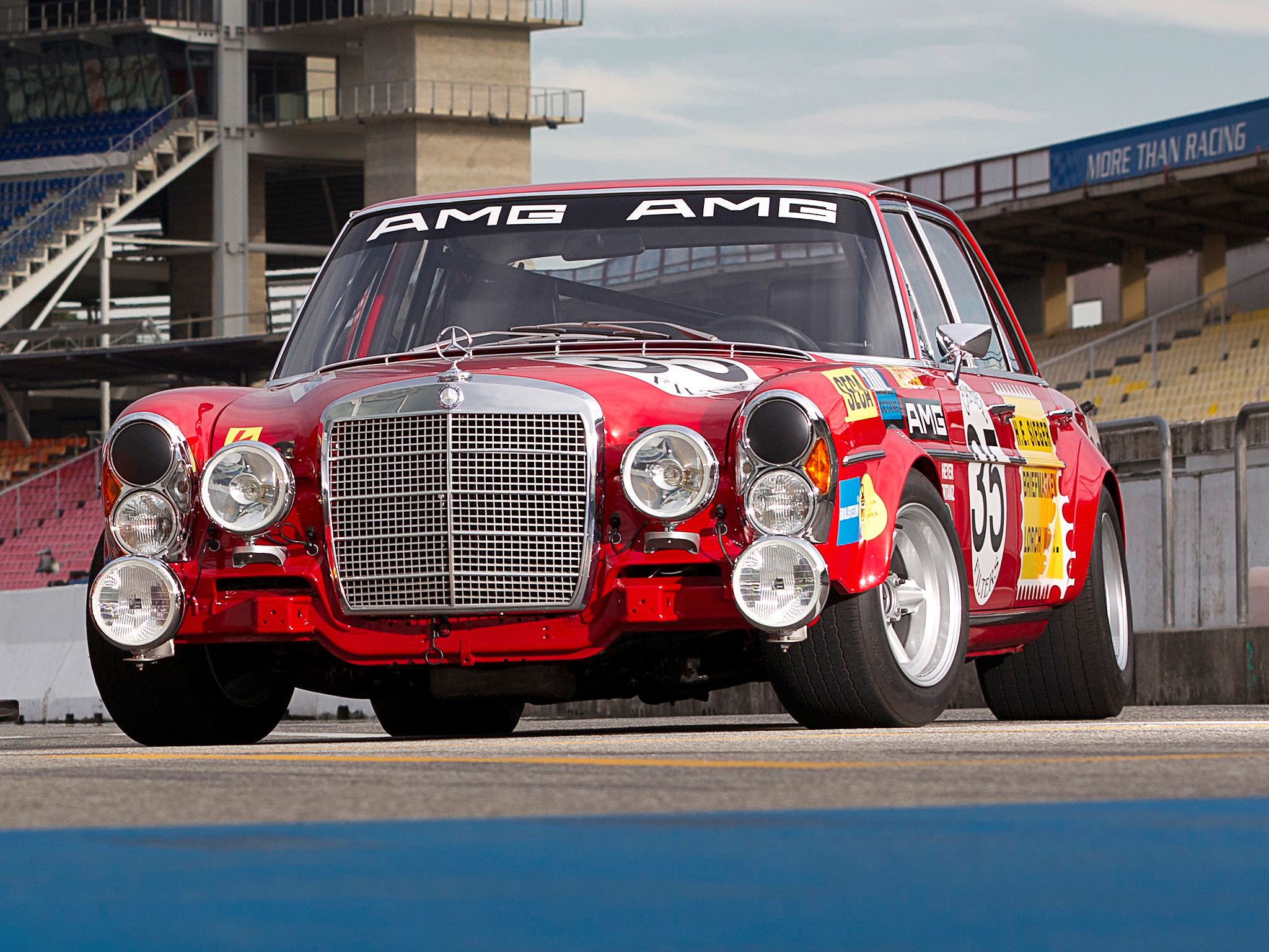 1971 mercedes benz amg 300 sel 6 3 race car w109 racing for Mercedes benz race