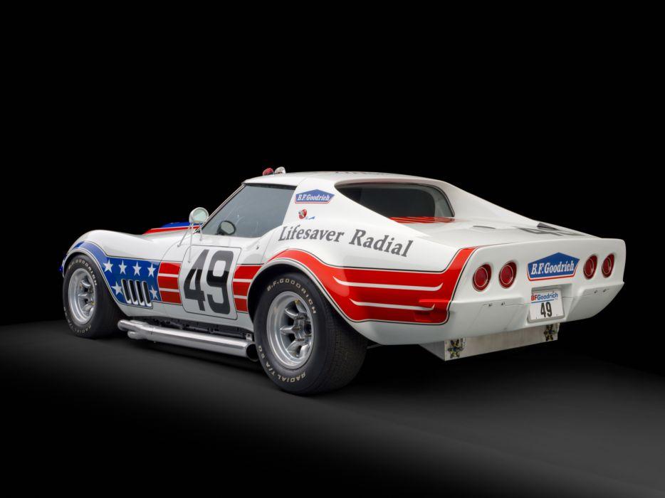1972 Chevrolet Corvette Stingray ZL1 BFG John Greenwood C-3 race racing supercar classic   g wallpaper