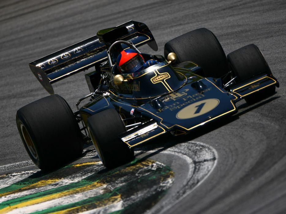 1972 Lotus 72D formula one f-1 race racing wallpaper