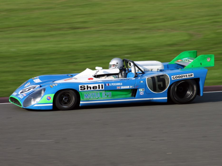 1972 Matra MS670C le-mans race racing wallpaper