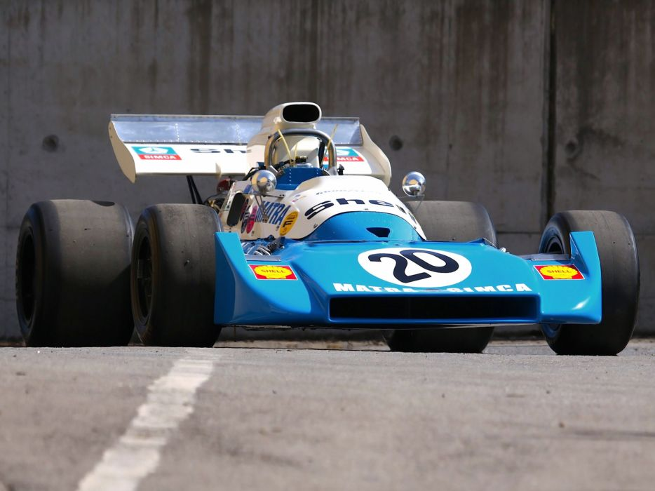 1972 Matra Simca MS120C race racing formula one f-1   h wallpaper