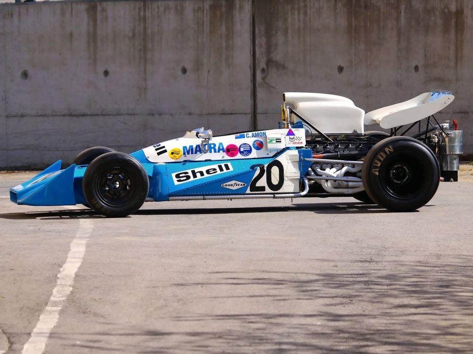 1972 Matra Simca MS120C race racing formula one f-1 engine        h wallpaper