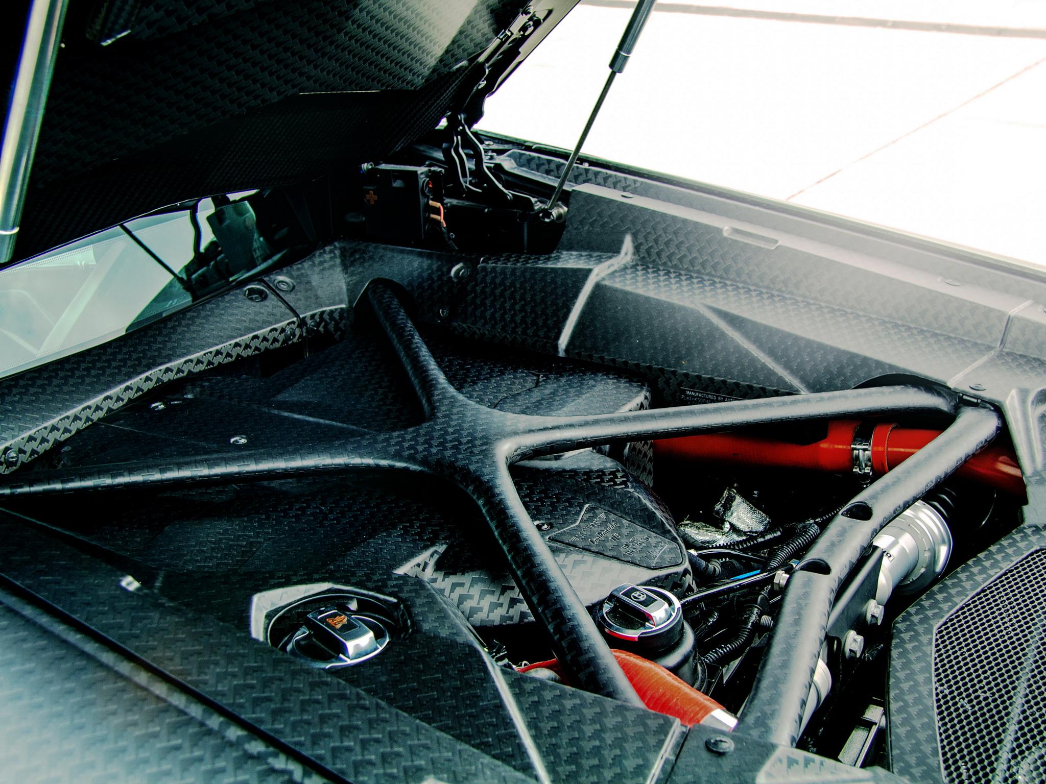 2012 Mansory Lamborghini Aventador LP700-4 Carbonado LB834