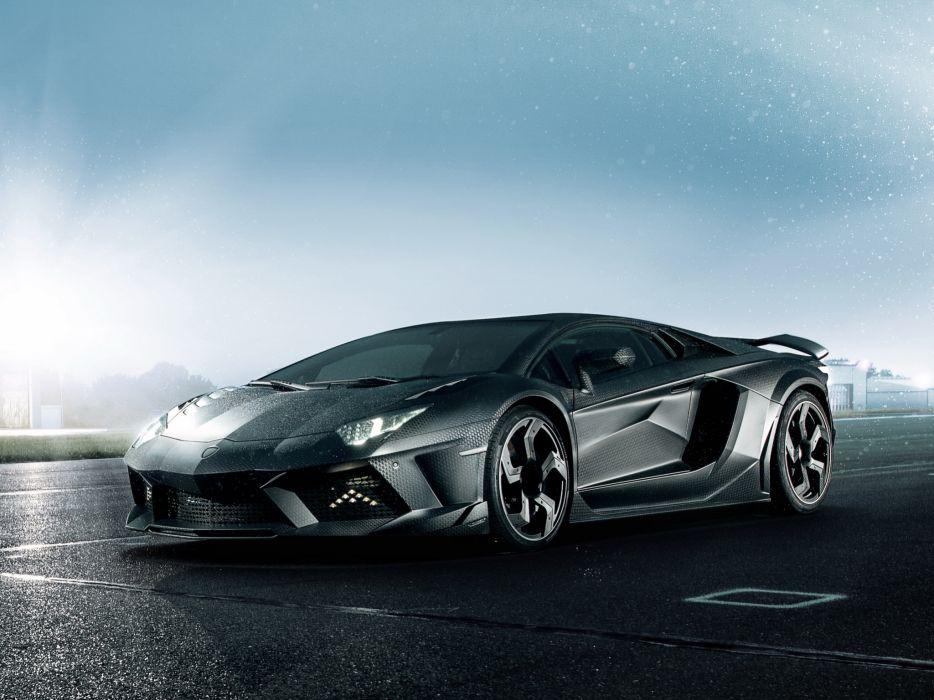 2012 Mansory Lamborghini Aventador LP700-4 Carbonado LB834 supercar    h wallpaper