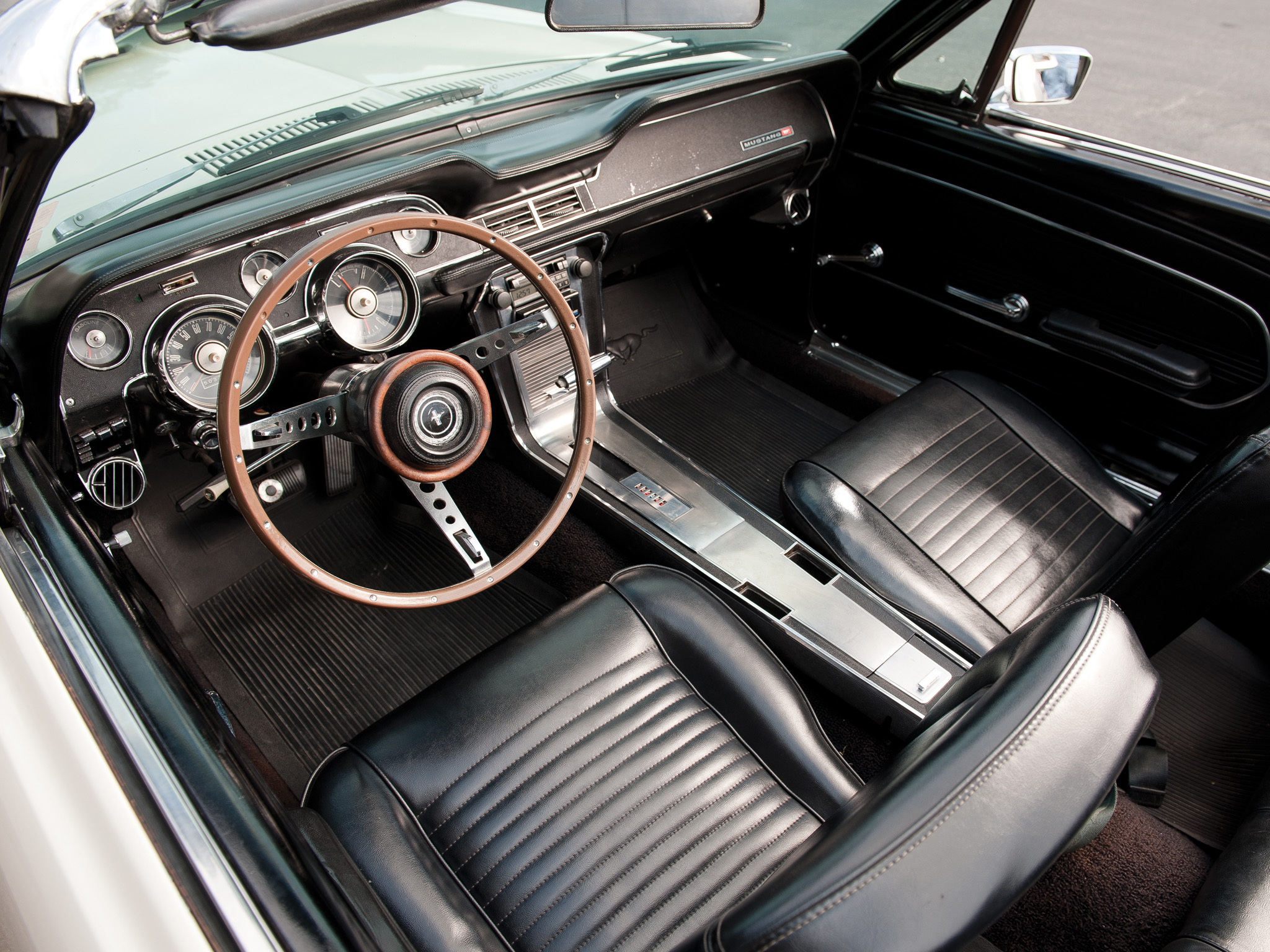1967 ford mustang convertible muscle classic interior g wallpaper 2048x1536 146800 wallpaperup