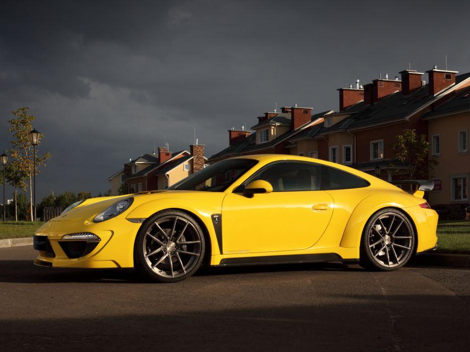 2013 TopCar Porsche 911 Carrera Stinger 991 tuning supercar    f wallpaper