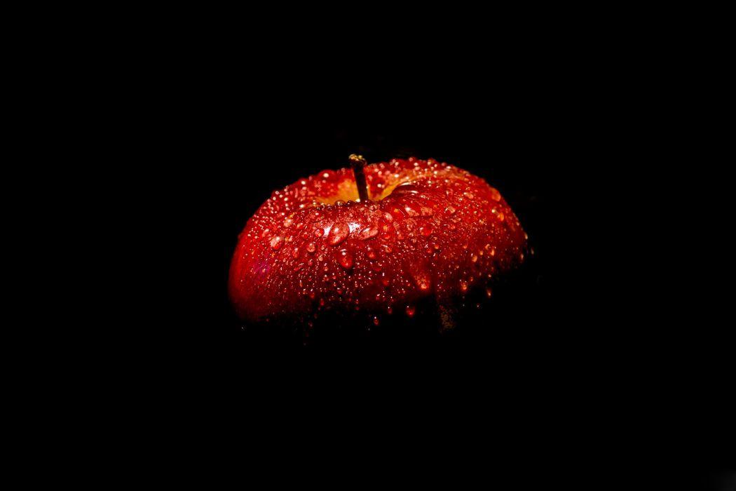 apple red drops wallpaper