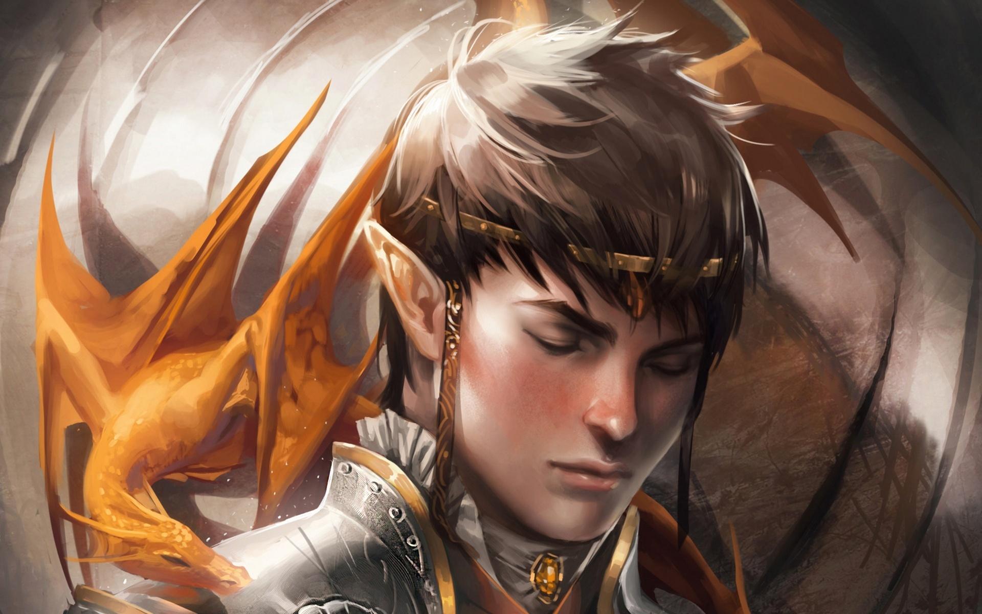 dragon faithful sakimichan art dragon elf fantasy art