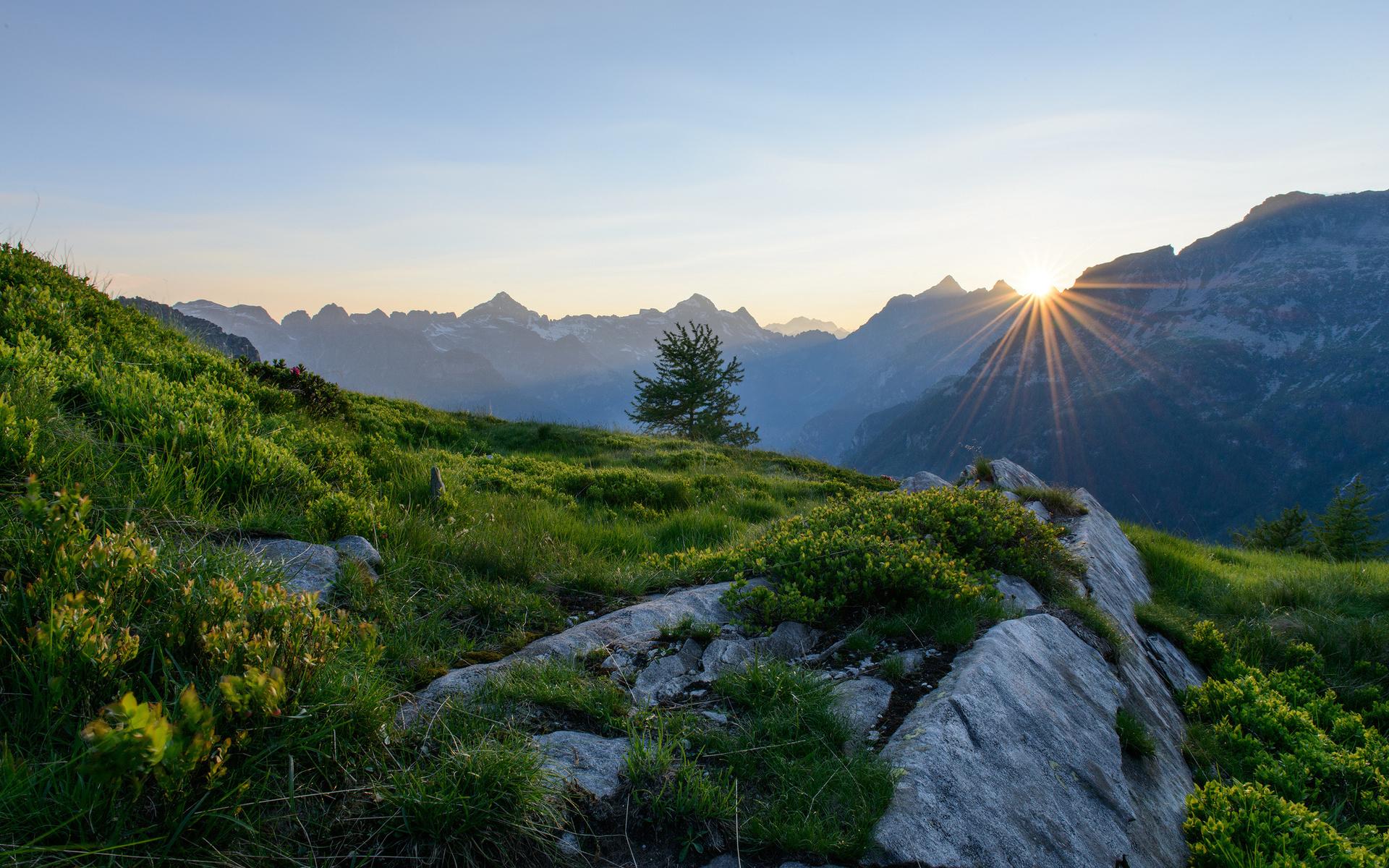 Switzerland alps switzerland mountains dawn sunrise wallpaper