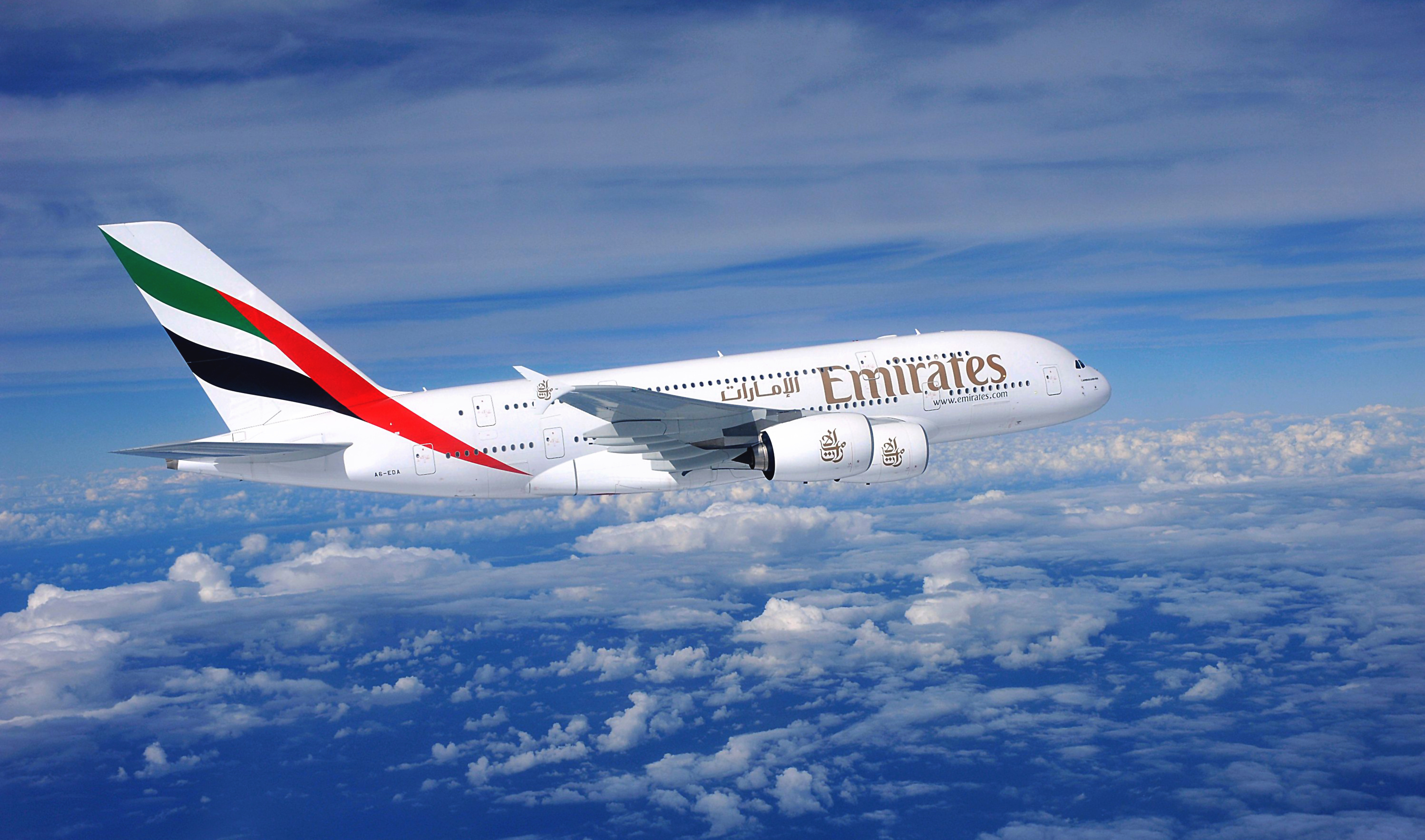 Emirates airline plane airbus airliner a380 wallpaper | 2996x1767 ...: www.wallpaperup.com/147087/emirates_airline_plane_airbus_airliner...