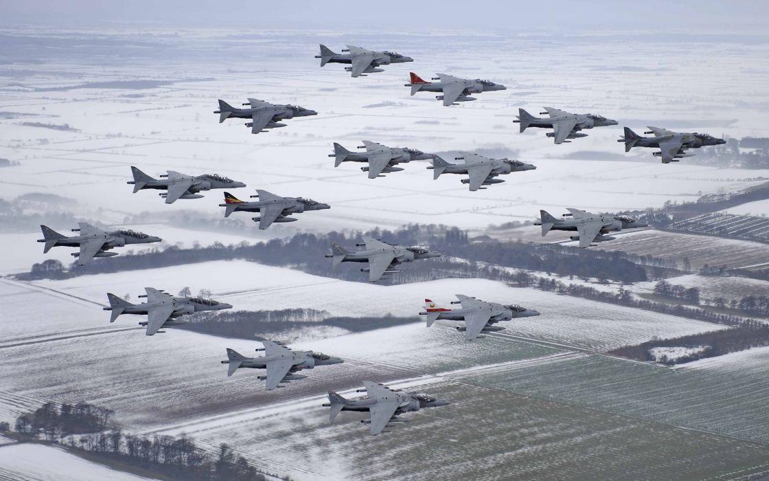 harrier mcdonnell douglas stormtroopers av-8b jet military wallpaper