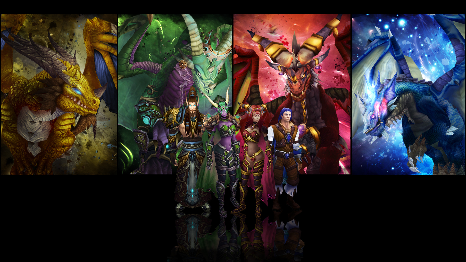 Aspects Of Art : World of warcraft wow dragon horns games fantasy