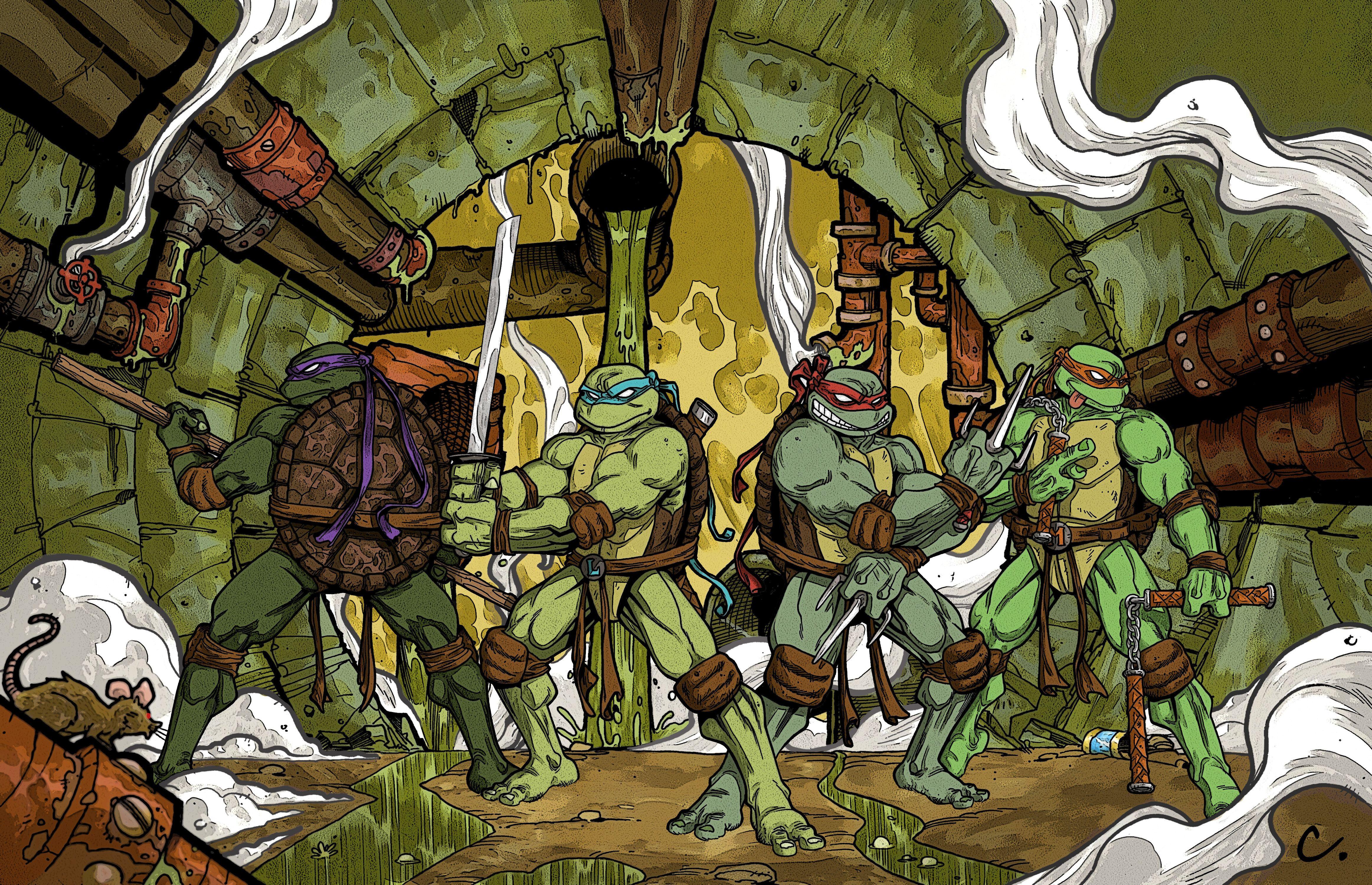teenage mutant ninja turtles wallpapers free