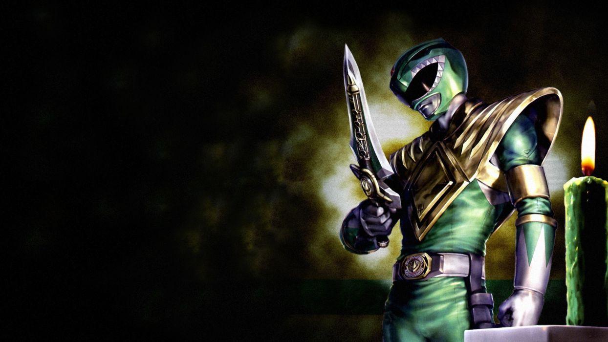 Power Rangers Warrior Swords Games Fantasy wallpaper