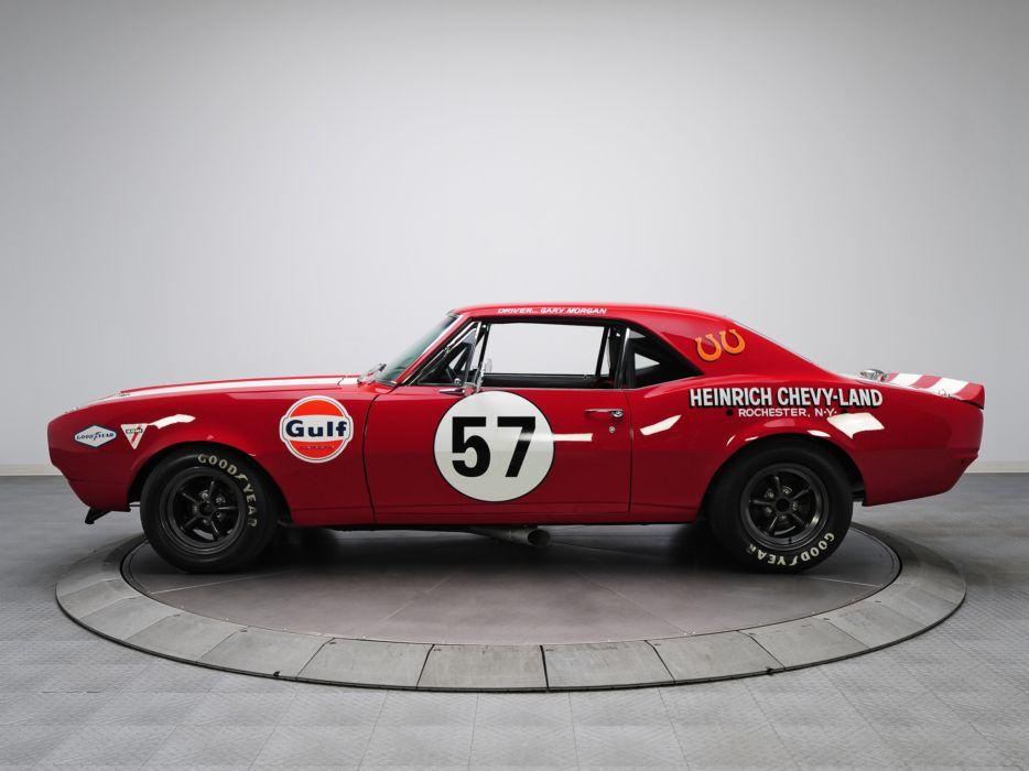 1967 Chevrolet Camaro Z-28 Pre-production Trans-Am Race Car racing ...